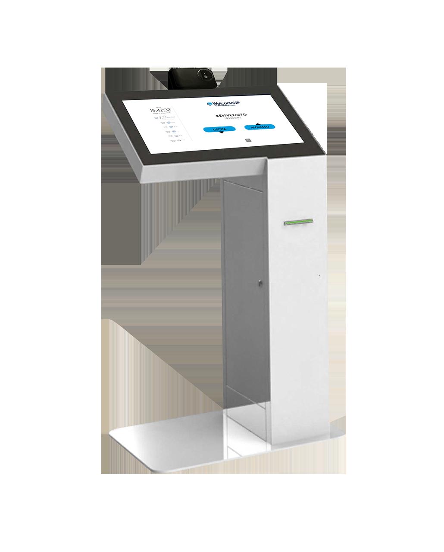 controllo accessi con reception virtuale